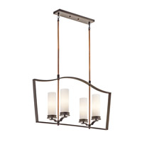 Kichler Lighting Aren 4 Light Chandelier in Olde Bronze 42775OZ photo thumbnail