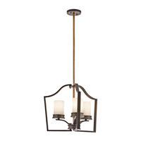 Kichler Lighting Aren 3 Light Chandelier in Olde Bronze 42776OZ photo thumbnail