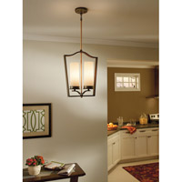 Kichler Lighting Aren 2 Light Foyer Chain Hung in Olde Bronze 42777OZ alternative photo thumbnail