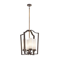 Kichler Lighting Aren 4 Light Foyer Chain Hung in Olde Bronze 42778OZ photo thumbnail