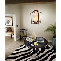 Kichler Lighting Aren 4 Light Foyer Chain Hung in Olde Bronze 42778OZ alternative photo thumbnail