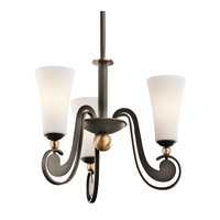 Kichler Lighting Clermont 3 Light Chandelier in Olde Bronze 42784OZ photo thumbnail