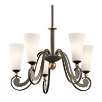 Kichler Lighting Clermont 5 Light Chandelier in Olde Bronze 42785OZ photo thumbnail