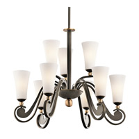 Kichler Lighting Clermont 9 Light Chandelier in Olde Bronze 42787OZ photo thumbnail