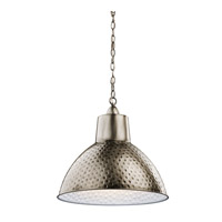 Kichler 42800AP Missoula 1 Light 19 inch Antique Pewter Pendant Ceiling Light