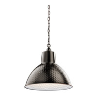Kichler 42800BZ Missoula 1 Light 19 inch Bronze Pendant Ceiling Light