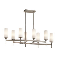 Kichler Lighting Kinsley 8 Light Chandelier in Classic Pewter 42806CLP photo thumbnail