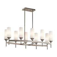 Kichler Lighting Kinsley 10 Light Chandelier in Classic Pewter 42807CLP photo thumbnail