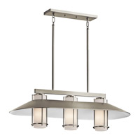 Kichler Lighting Tavistock 3 Light Island Light in Brushed Nickel 42811NI photo thumbnail