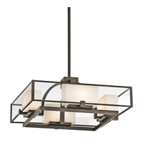Kichler Lighting Isola 4 Light Semi-Flush in Olde Bronze 42826OZ photo thumbnail