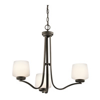 Kichler Lighting Truett 3 Light Chandelier in Olde Bronze 42829OZ photo thumbnail