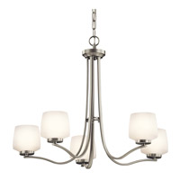 Kichler Lighting Truett 5 Light Chandelier in Brushed Nickel 42830NI photo thumbnail