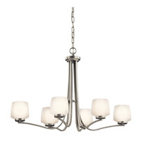 Kichler Lighting Truett 6 Light Chandelier in Brushed Nickel 42831NI photo thumbnail