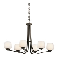 Kichler Lighting Truett 6 Light Chandelier in Olde Bronze 42831OZ photo thumbnail