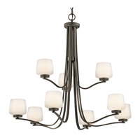 Kichler Lighting Truett 9 Light Chandelier in Olde Bronze 42832OZ photo thumbnail