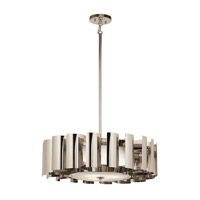 Kichler Lighting Ziva 3 Light Pendant in Polished Nickel 42836PN