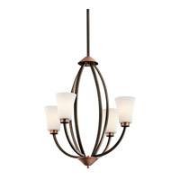 Kichler Lighting Edgecomb 4 Light Chandelier in Olde Bronze 42839OZ photo thumbnail