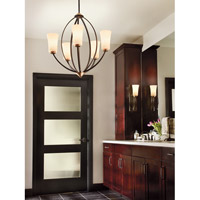 Kichler Lighting Edgecomb 1 Light Wall Sconce in Olde Bronze 45338OZ