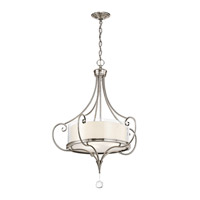 Lara 3 Light 24 inch Classic Pewter Inverted Pendant Ceiling Light