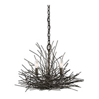 Kichler Organique 3 Light Mini Chandelier in Olde Bronze 42886OZ