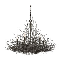 Kichler 42888OZ Organique 6 Light 30 inch Olde Bronze Chandelier 1 Tier Medium Ceiling Light
