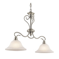 Kichler Lighting Tanglewood 2 Light Island Light in Brushed Nickel 42904NI photo thumbnail
