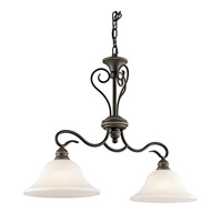 Kichler Lighting Tanglewood 2 Light Island Light in Olde Bronze 42904OZ