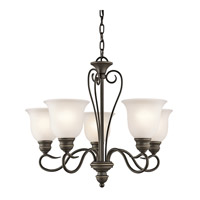 Kichler 42906OZL16 Tanglewood LED 24 inch Olde Bronze Chandelier Ceiling Light, Medium