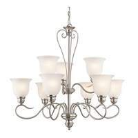 Tanglewood LED 32 inch Brushed Nickel Chandelier Ceiling Light