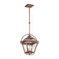 Kichler Ryegate 2 Light Pendant in Antique Copper 42908ACO
