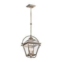 Kichler 42908AP Ryegate 2 Light 10 inch Antique Pewter Pendant Ceiling Light