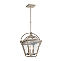 Kichler Ryegate 3 Light Pendant in Antique Pewter 42909AP