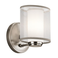 Kichler Lighting Saldana 1 Light Wall Sconce in Classic Pewter 42924CLP photo thumbnail