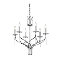 Kichler Lighting Aliso 6 Light Chandelier in Chrome 42927CH