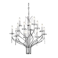 Kichler Lighting Aliso 12 Light Chandelier in Chrome 42928CH