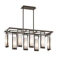 Kichler Lighting Perimeter 8 Light Chandelier in Olde Bronze 42935OZ photo thumbnail