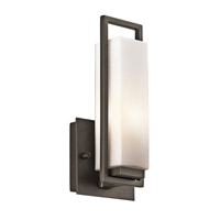 Kichler Lighting Perimeter 1 Light Wall Sconce in Olde Bronze 42939OZ