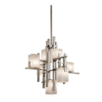 Kichler 42940CLP City Lights 7 Light 23 inch Classic Pewter Chandelier Ceiling Light