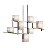Kichler 42941CLP City Lights 7 Light 4 inch Classic Pewter Chandelier Ceiling Light