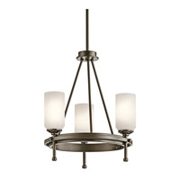 Kichler Lighting Ladero 3 Light Chandelier in Shadow Bronze 42944SWZ photo thumbnail