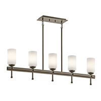 Kichler Lighting Ladero 5 Light Chandelier in Shadow Bronze 42945SWZ photo thumbnail
