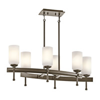 Kichler Lighting Ladero 6 Light Chandelier in Shadow Bronze 42946SWZ photo thumbnail