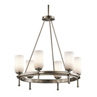 Kichler Lighting Ladero 6 Light Chandelier in Antique Pewter 42947AP photo thumbnail