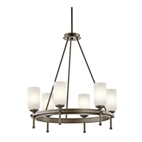 Kichler Lighting Ladero 6 Light Chandelier in Shadow Bronze 42947SWZ photo thumbnail