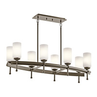 Kichler Lighting Ladero 8 Light Chandelier in Shadow Bronze 42948SWZ