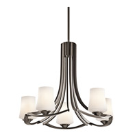 Kichler Lighting Holton 5 Light Chandelier in Olde Bronze 42972OZ