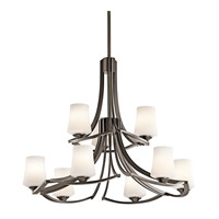 Kichler Lighting Holton 9 Light Chandelier in Olde Bronze 42973OZ photo thumbnail