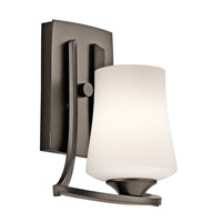 Kichler Lighting Holton 1 Light Wall Sconce in Olde Bronze 42975OZ photo thumbnail