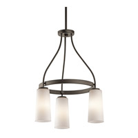 Kichler Lighting Whitley 3 Light Chandelier in Olde Bronze 42976OZ photo thumbnail