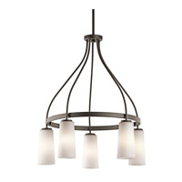 Kichler Lighting Whitley 5 Light Chandelier in Olde Bronze 42977OZ photo thumbnail